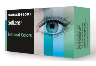 لنز طبی رنگی سافلنز نچرال کالر بوش اند لوب  Bausch+LOMB