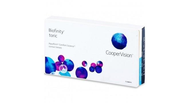 لنز طبی کوپرویژن بایوفینیتی آستيگمات Biofinity Toric