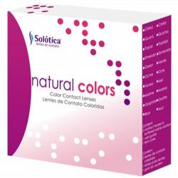 لنز طبی رنگی سولوتیکا نچرال کالرز Solotica natural colors