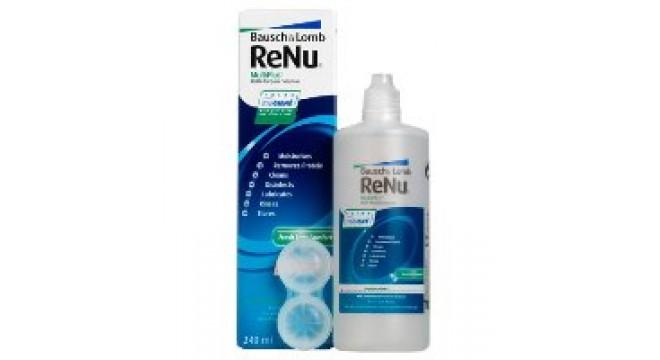 محلول لنز رنیو ReNu MultiPlus 120ml